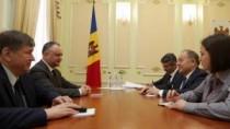 Vizita lui Erdogan la Chișinău, discutată la Președinție