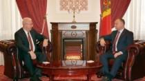 Dezvoltarea colaborării interregionale, subiect de discuție dintre Igor Dod ...
