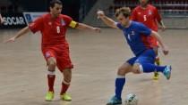 Naționala de futsal a suferit două înfrângeri în Azerbaidjan