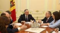 Vizita lui Erdogan în Moldova, discutată la Președinție