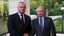 Subiecte de importanță majoră, discutate de Igor Dodon și Vladimir Putin