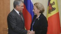 Zinaida Greceanîi a avut o întrevedere cu Veaceslav Volodin
