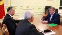 Dodon la întrevederea cu Horjan: Este important să dezvoltăm dialogul și să ...