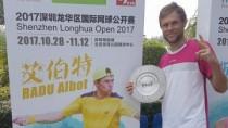 Radu Albot a câștigat turneul Challenger din Shenzhen