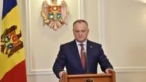 Igor Dodon: Există un blocaj total la nivel de Guvern în relațiile moldo-ru ...