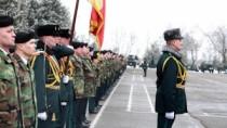 """Brigada 3 Infanterie Motorizată """"Dacia"""", decorată cu Ordinul """"Credință Patr ..."""