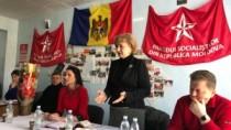 Situația din țară, discutată de Zinaida Greceanîi cu activul PSRM din Cante ...