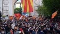 Noi proteste au fost organizate în Macedonia împotriva schimbării numelui f ...
