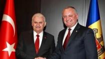 Igor Dodon a avut o întrevedere cu Prim-ministrul Turciei