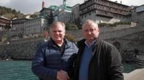 Igor Dodon a avut o întrevedere cu președintele Organizației Internaționale ...