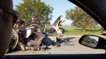 Accident grav pe traseul Orhei-Bălți; Șoferul unui Opel a murit pe loc