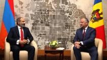 Igor Dodon a avut o întrevedere cu Prim-ministru al Republicii Armenia, Nik ...