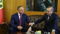Igor Dodon l-a felictat pe Recep Tayyip Erdoğan cu victoria obținută în ale ...