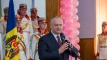 Igor Dodon a participat la aniversarea a 75-a de la înființarea Liceului Te ...