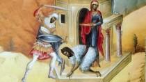 Creștinii ortodocși prăznuiesc Tăierea Capului Sfîntului Ioan Botezătorul