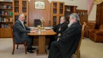 Igor Dodon a discutat cu Episcopii Markel și Nicodim despre prevenirea răsp ...