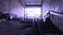 Reparație într-un pasaj subteran