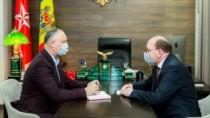 Posibilitatea de a livra vaccinul Sputnik V în Moldova a fost discutat de D ...