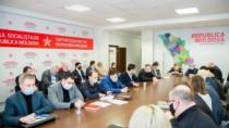 Igor Dodon, după ședința cu fracțiunea PSRM: Deputații au fost unanimi în o ...